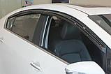Дефлектори вікон (вітровики) Kia Cerato / Forte 2013-2017 (Autoclover A147), фото 6