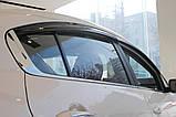Дефлектори вікон (вітровики) Kia Cerato / Forte 2013-2017 (Autoclover A147), фото 7