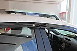 Дефлектори вікон (вітровики) Kia Cerato / Forte 2013-2017 (Autoclover A147), фото 8