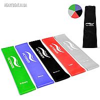 Набор резиновых эспандеров для фитнеса Victorem Mini Bands Black (5 шт)