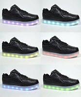 Светящиеся кроссовки с LED подстветкой р. 32-37