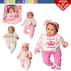 Деткая м'яконабивна лялька M 3868 UA