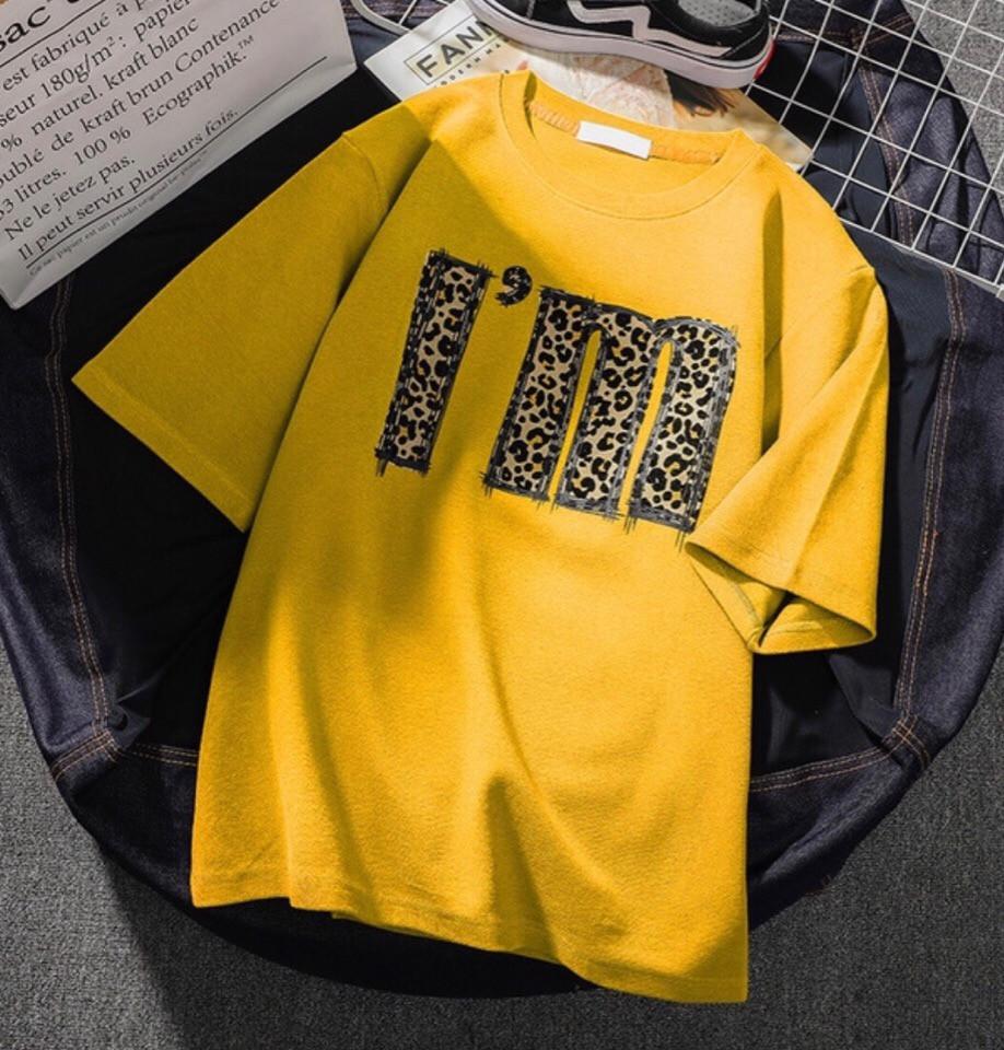 Женская прямая футболка с рисунком - накаткой tez6817198