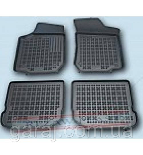 Коврики резиновые VW Golf  97-06/Seat Leon 99-05/Toledo 99-04 Rezaw-Plast 202003