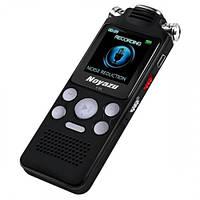 Диктофон цифровой с таймером Noyazu voice recorder V59 Stereo 8 Гб, черный