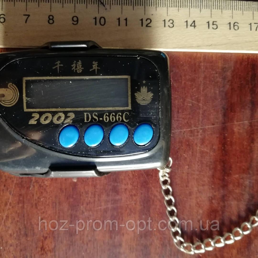 Часы электронные на цепочке+ фонарик,- для авто