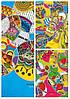 Тетрадь A4 интегральная обложка +микротиснение +пантон 80листов 70г/м2 линия Мандарин