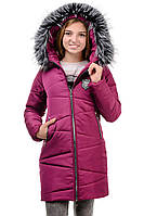 Зимнее подростковое пальто р.42-46, фото 1