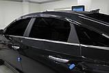 Ветровики , дефлекторы окон Hyundai Sonata LF 2014-2018- (Autoclover) A196, фото 9