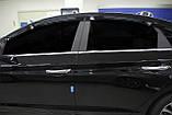 Ветровики , дефлекторы окон Hyundai Sonata LF 2014-2018- (Autoclover) A196, фото 10