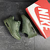Кроссовки мужские Nike Air Max Hyperfuse темно зеленые, фото 5