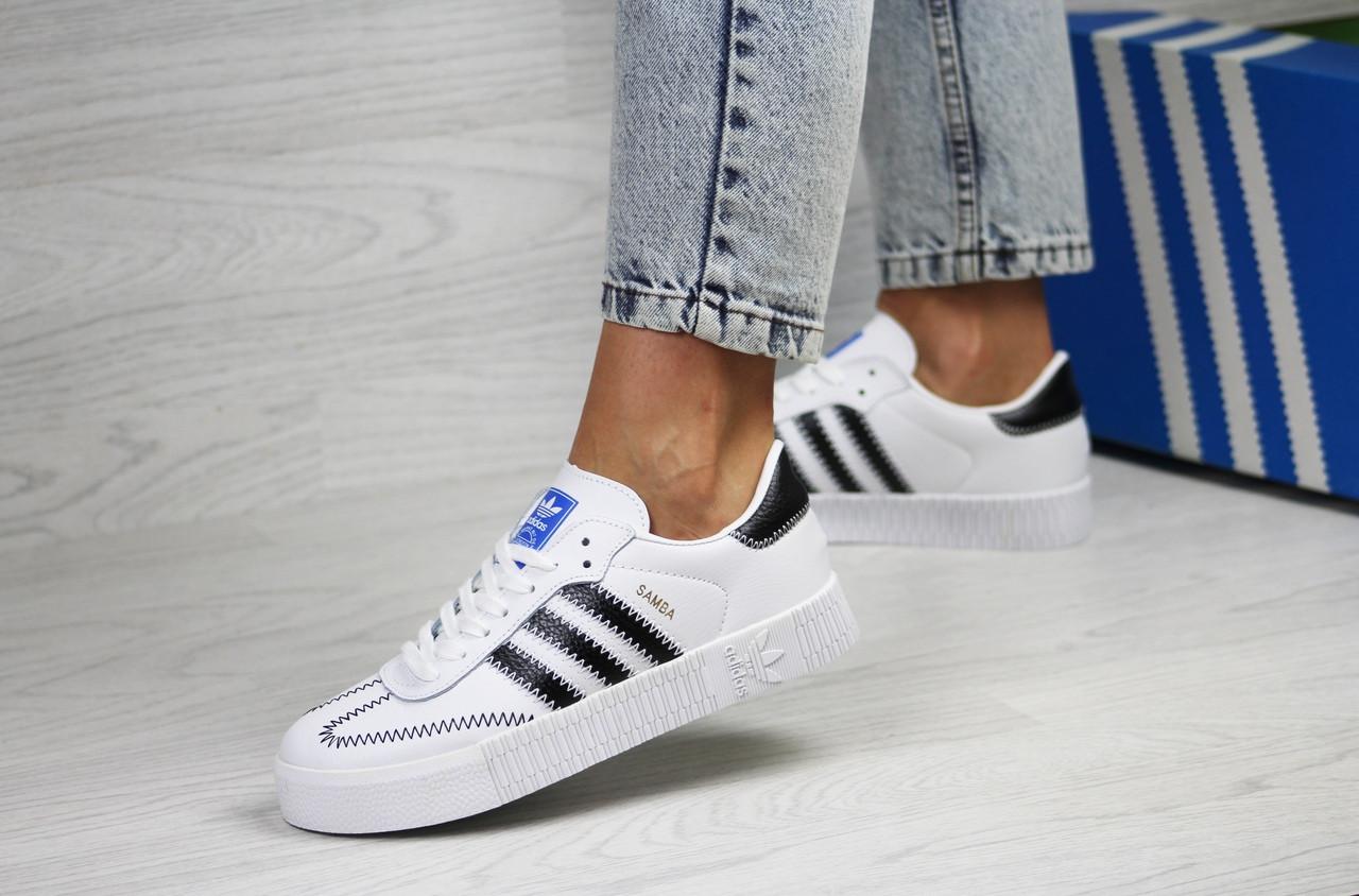 Кросівки жіночі   Adidas Samba  білі