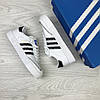 Кросівки жіночі   Adidas Samba  білі , фото 3