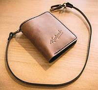 Кошелек портмоне Knockwood Brixton 20257 коричневый