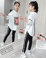 Оригінальний спортивний костюм / Эксклюзивная одежда для детей осенне-весенний комплект для девочек