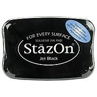 Чорнило - Jet Black - StazOn Solvent Ink Pad