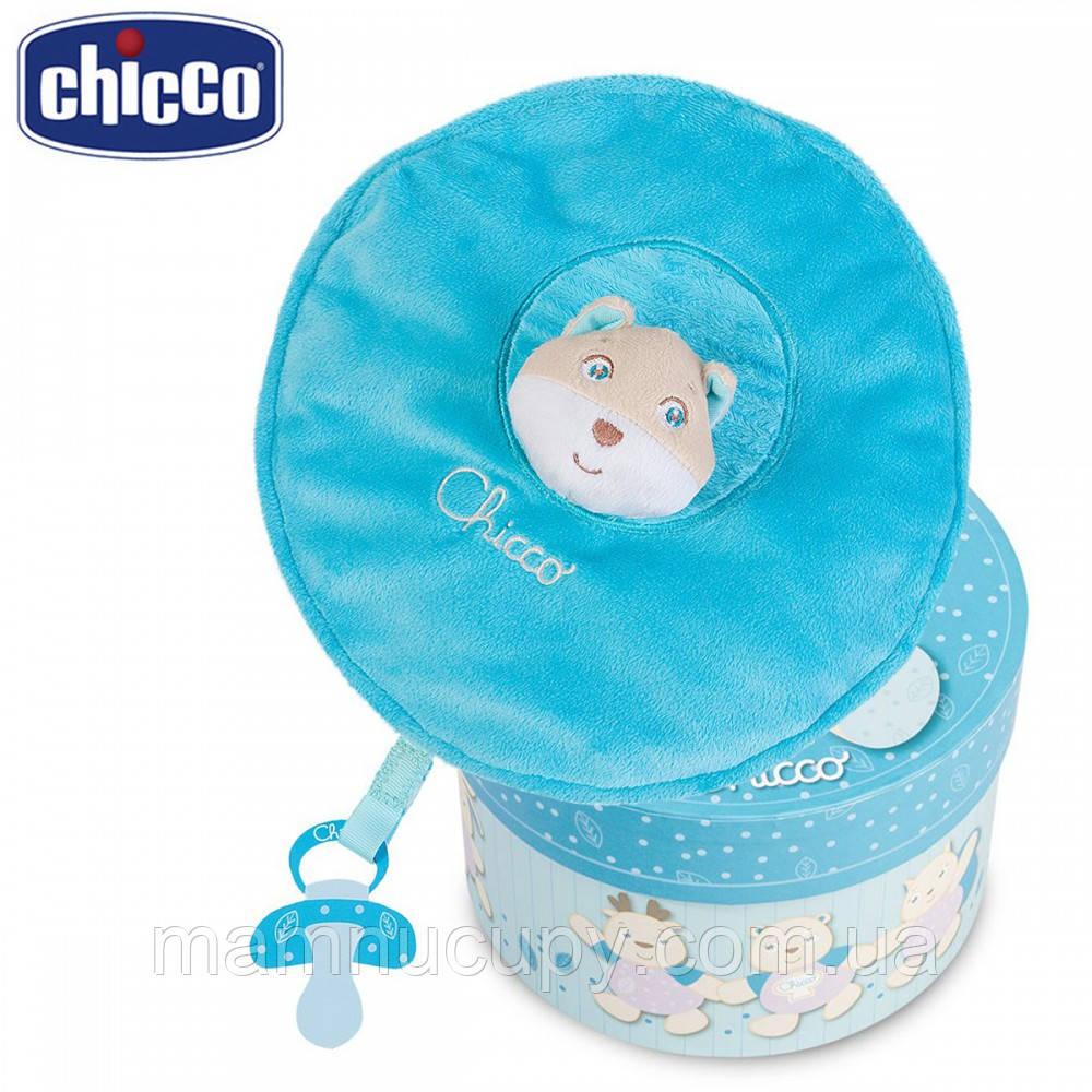 Мягкая игрушка Chicco - Лиса (07496.20) в коробке, голубой