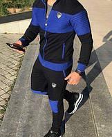Спортивный костюм Emporio Armani EA7 D7626 сине-черный