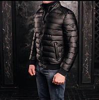 Куртка мужская Armani P0140 черная