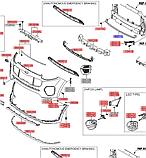 Усилитель переднего бампера нижний киа Спортейдж 4, KIA Sportage 2016-20 QLe, 86571f1000 , фото 4