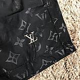 Шорты мужские Louis Vuitton 18659 черные плавательные, фото 2