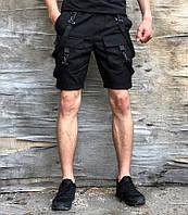 Шорты мужские Пушка Огонь Scarstrope 20237 черные