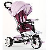 Детский трёхколёсный велосипед Crosser roza T 600, фото 2