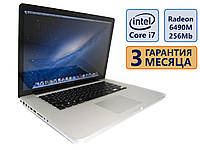 Ноутбук Apple MacBook Pro A1286 2010 15.4 (1440x900)/Intel Core i7-2635QM(4x2GHz)/Radeon HD 6490M НОВ/RAM 8Gb/SSD 240Gb/АКБ 3 ч./Сост. 9.5/10 БУ