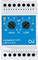 Терморегуляторы для систем снеготаяния и антиобледенения