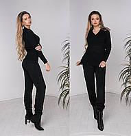 Женский вязаный спортивный костюм  42-46, 48-52