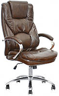 Офисное кресло для руководителя Rain brown Бесплатная доставка