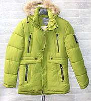 """Куртка подросток зимняя на холлофайбере на мальчика, размеры M-3XL (5 цв)""""CITY"""" недорого от прямого поставщика"""