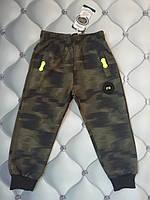 Спортивные штаны  мальчику под Хаки зеленый, рр. 98