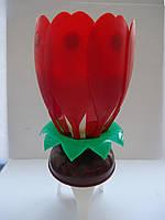 Свеча Фейерверк Музыкальная для праздничного торта