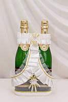 Корзинка для свадебного шампанского №1