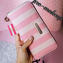 Кошелек женский Victoria's Secret Pink and White (Виктория Сикрет)