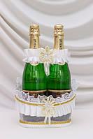Корзинка для свадебного шампанского №2
