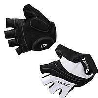 Перчатки EXUSTAR CG112A черно-белые, гель, XL