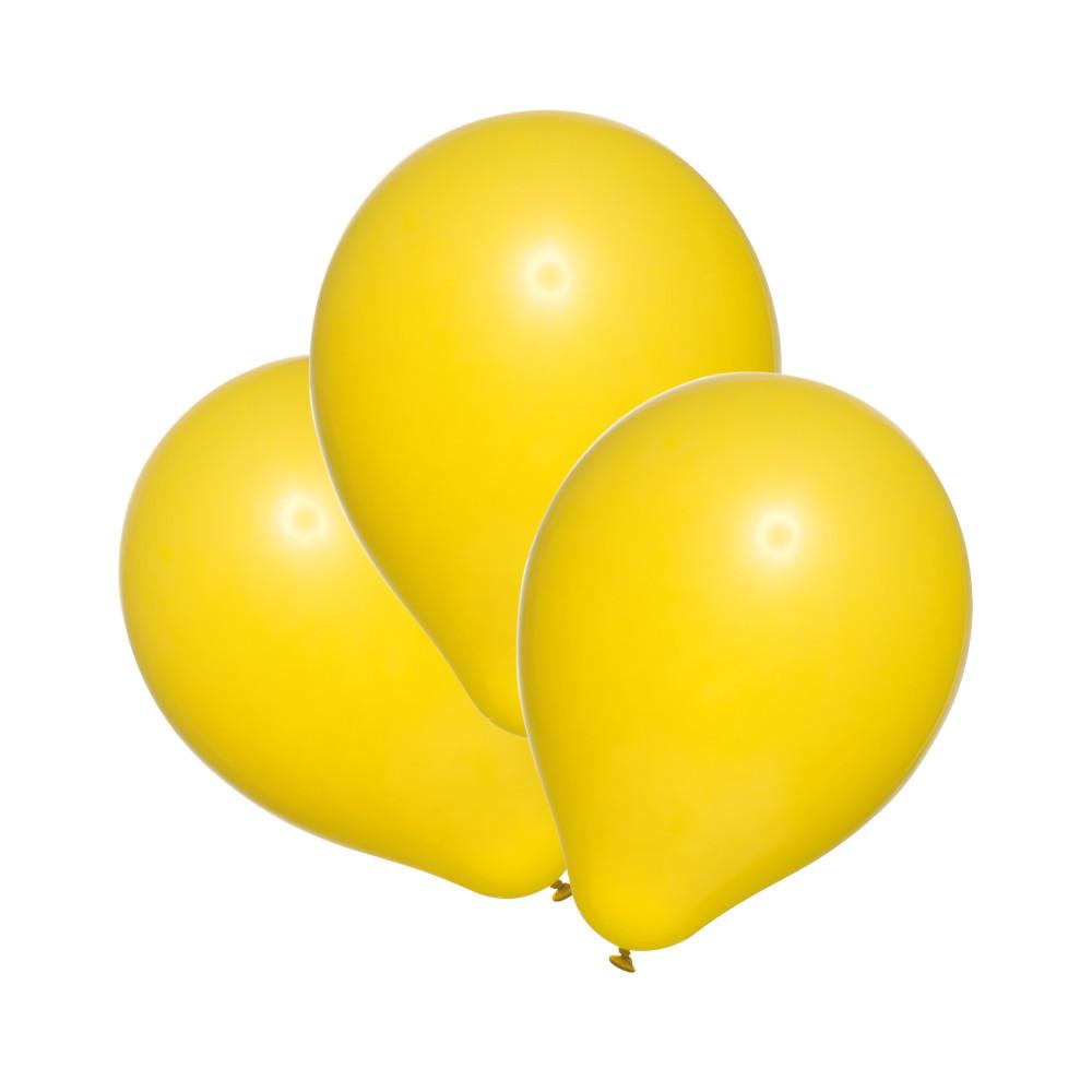 Повітряні кульки Susy Card набір 100 шт 20 см жовті (40011400)