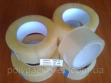 Скотч длиною 120 метров /48 мм /40 мкм, прозрачный прочный универсальный упаковочная липкая скотч лента купить