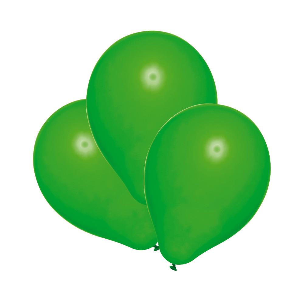 Повітряні кульки Susy Card набір 100 шт 20 см зелені (40011431)