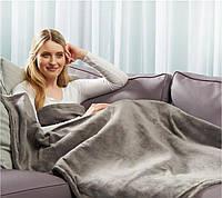 Электропростынь electric blanket 150*120 sky blue, фото 1