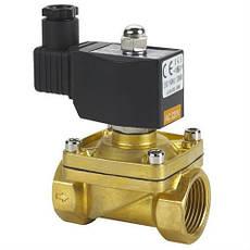 Електромагнітні клапани для води, газу