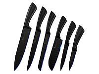 Набор кухонных ножей Sowoll из нержавеющей стали 6 шт + чехлы 6 шт