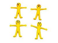 Игрушка антистресс тянущиеся смайлики Smile-4 шт