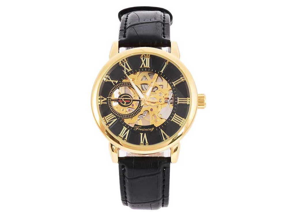 Часы для мужчин Forsinihg механические  Золотой