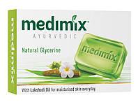 Мило Медімікс з гліцерином і маслом лакшаді, 75 г, Мыло Медимикс, Medimix Glycerine and Lakshadi Oil Ayurvedic Soap Cholayil Ltd