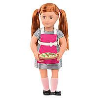 Кукла Our Generation DELUXE Ноа готовит обед с книгой BD31092ATZ