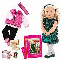 Кукла Our Generation DELUXE Одри-Энн с книгой BD31013ATZ