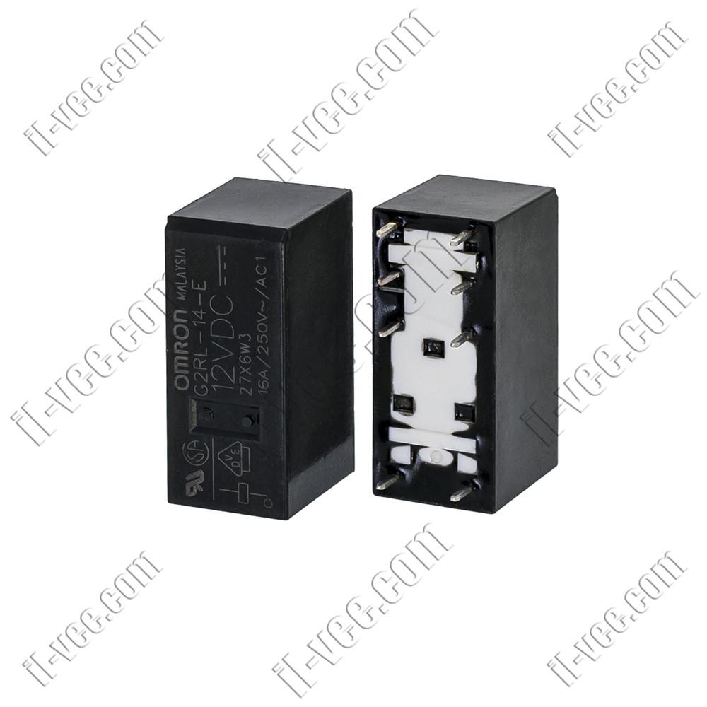Реле OMRON G2RL-14-E 12VDC, 16A/250VAC, 16A/24VDC